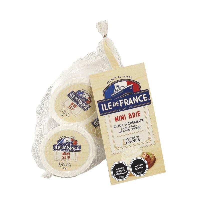 Queso Mini Brie ( santa Rosa)  125 gr