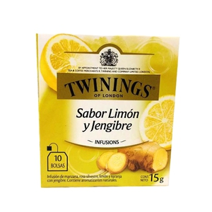 Twinings Infusion Limon y Jengibre