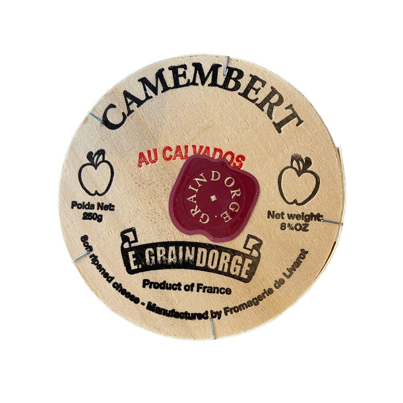 Queso Camembert Au Calvados (LF)