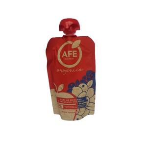 Pure de Manzana y Arándano Orgánico 90 gr AFE