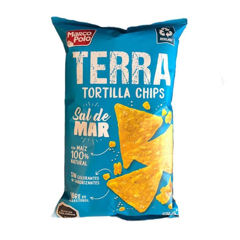 Tortilla chips Terra Sal de Mar 180g (MARCO POLO)