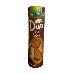 Galleta Mega Duo Doble Cacao Gullon 500gr (gullon)
