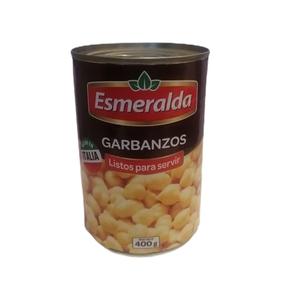 Garbanzos Esmeralda 400 Gr (Marcopolo)