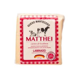 Queso Mantecoso Matthei Laminado 250 gr (Rodenberg)
