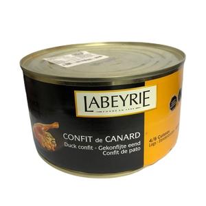 Confit de Canard Labeyrie 4/6 muslos 700Gr (fromagerie)