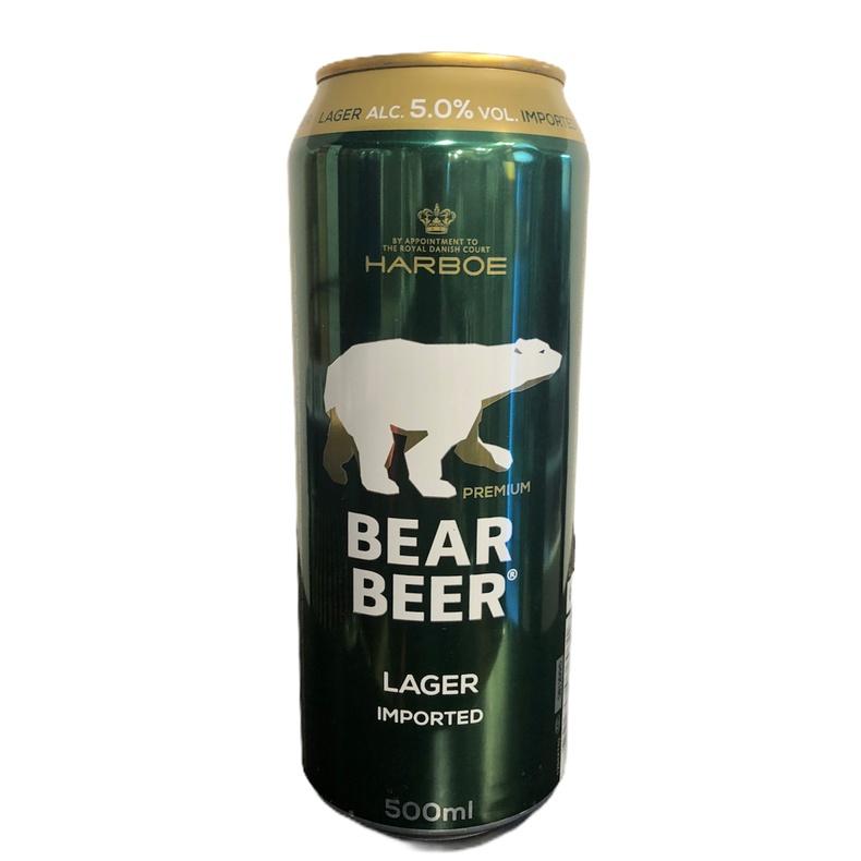 Cerveza Bear Beer Lata 500ml