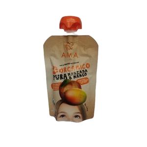 Pure de Fruta Organico Manzana Mango (LOGO)
