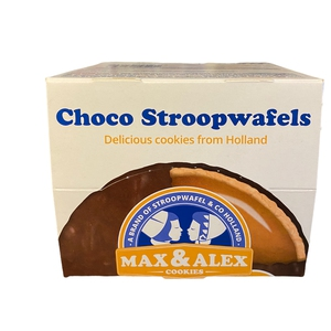Galleta Stroopwafels cubierta Chocolate