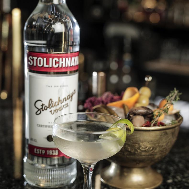 Vodka Stolichnaya 750cc.