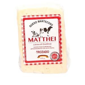 Queso Mantecoso Matthei Trozado 500 gr (Rodenberg)
