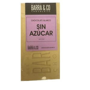 BARRA CHOCOLATE SIN AZUCAR (BARRA & CO)