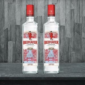 2 Gin Beefeater 40GL. 750cc Despacho Gratis