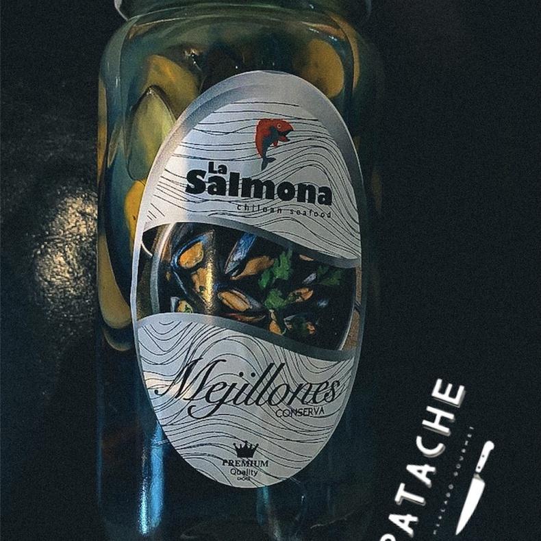 Mejillones en Conserva (LA SALMONA)