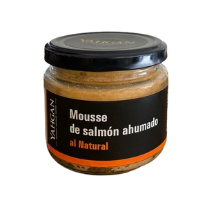 Mousse de Salmon Ahum Natural 180gr (Yahgan)