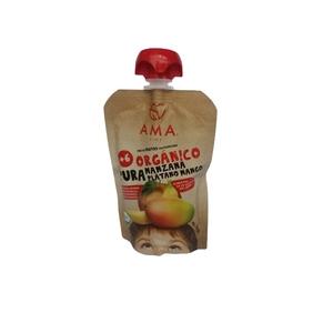 Pure De Fruta Organico Manz/Plat/Mango (LOGO)