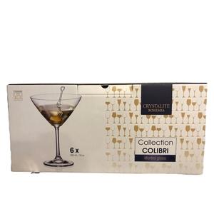 Set 6 copias bohemia Martini