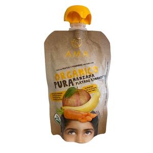 Pure De Fruta Organico Manz/Zanahoria (LOGO) Puré de fruta