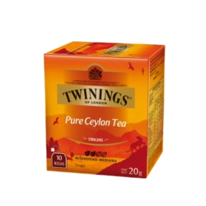 Te Twininngs Pure Ceylon Tea 12x10 (Engels)