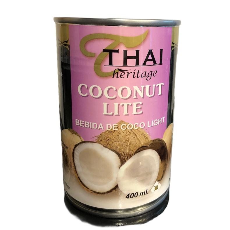 Thai Coconut lite 400ml Leche de Coco Light