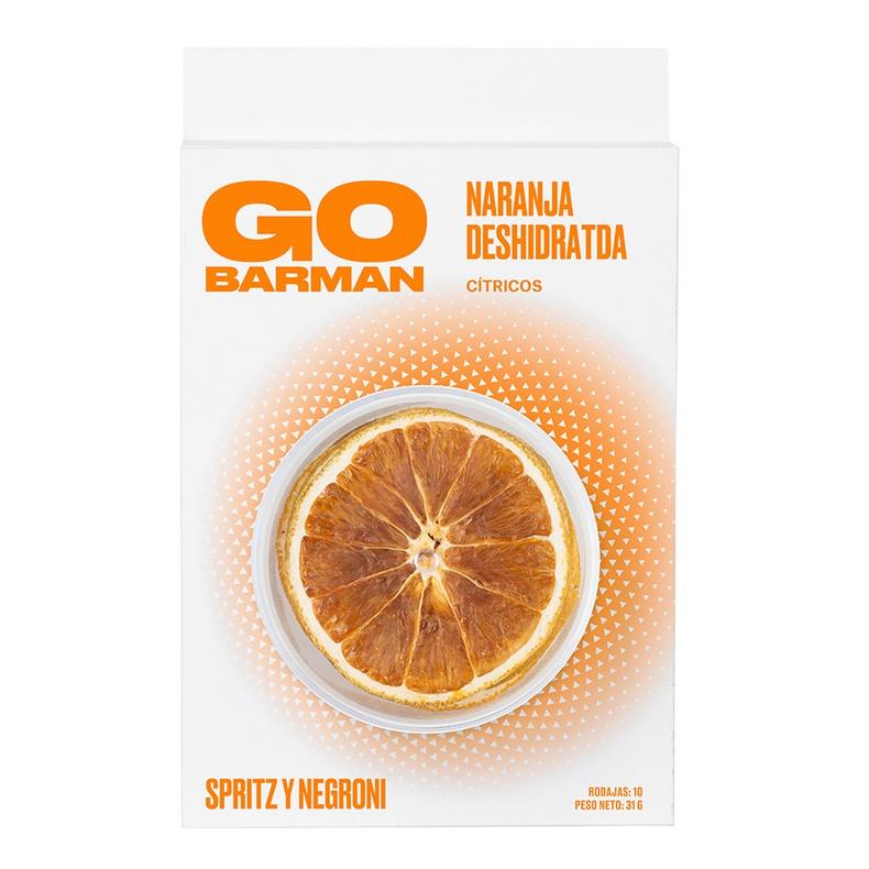 Blister Citrico Naranja deshidratada (Go Barman)