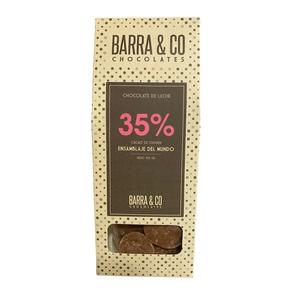 Chocolate 35% Ensamblaje 100gr (Barra & Co)