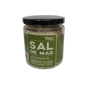 Sal de Mar Cilantro 400 grs (Nau)
