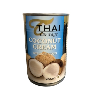 Thai Coconut Cream 400ml Crema de Coco