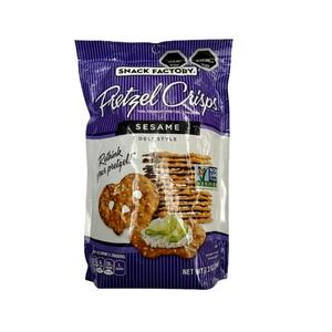Pretzel Crisps Sesame 204 gr