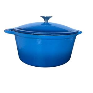 Olla Baja 30 cm Azul (Brann)