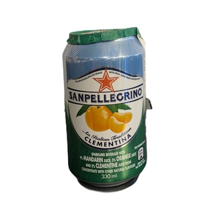 Agua Sanpellegrino Cans Clementina 330ml. (Premium