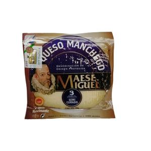 Queso Manchego Maese Miguel Cuña 200gr. (S.R.)