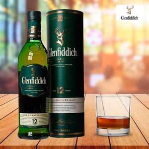 Whisky Glenfiddich 12 Años 750 ml