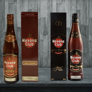 1 Ron Havana Club 7 años 40 GL + Ron Havana Club Añejo Reserva 40° 750 cc. Despacho Gratis