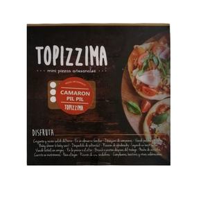 Mini Pizza Camaron PilPil 12 Un (topizzima)
