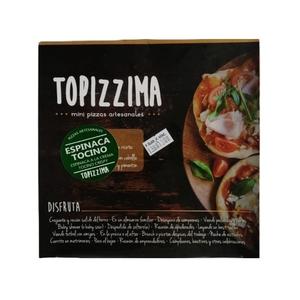 Mini Pizza Espinaca Tocino 12 Un (topizzima)