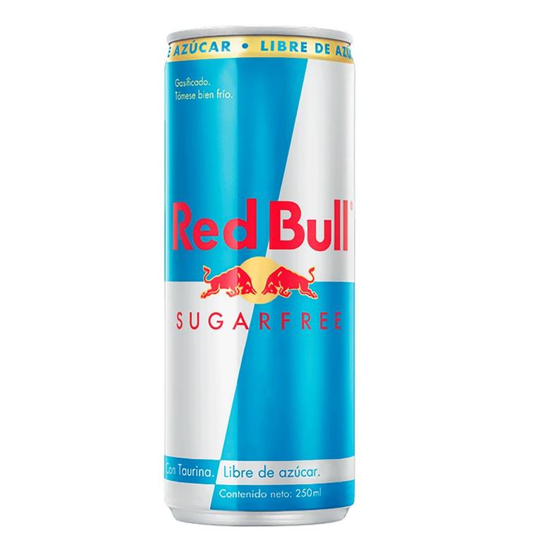 Red Bull Sugar Free Lata. (Red Bull )
