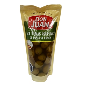 Aceitunas Rellenas de Pasta de Limon (Don Juan)