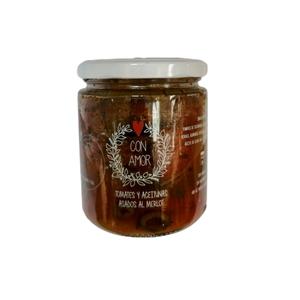 Tomates y Aceitunas Asados al Merlot 430gr (con amor)