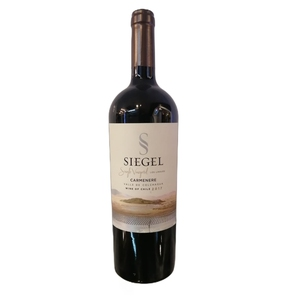 Vino Single Vineyard Carmenere Siegel 750cc