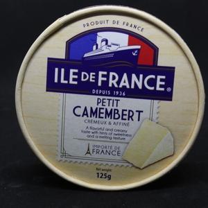 Petit Camembert Ile de France (Santa Rosa) 125 gr