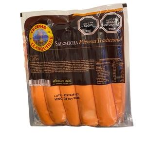 Salchichas Vienesa Tradicional 1kg (Llanquihue)