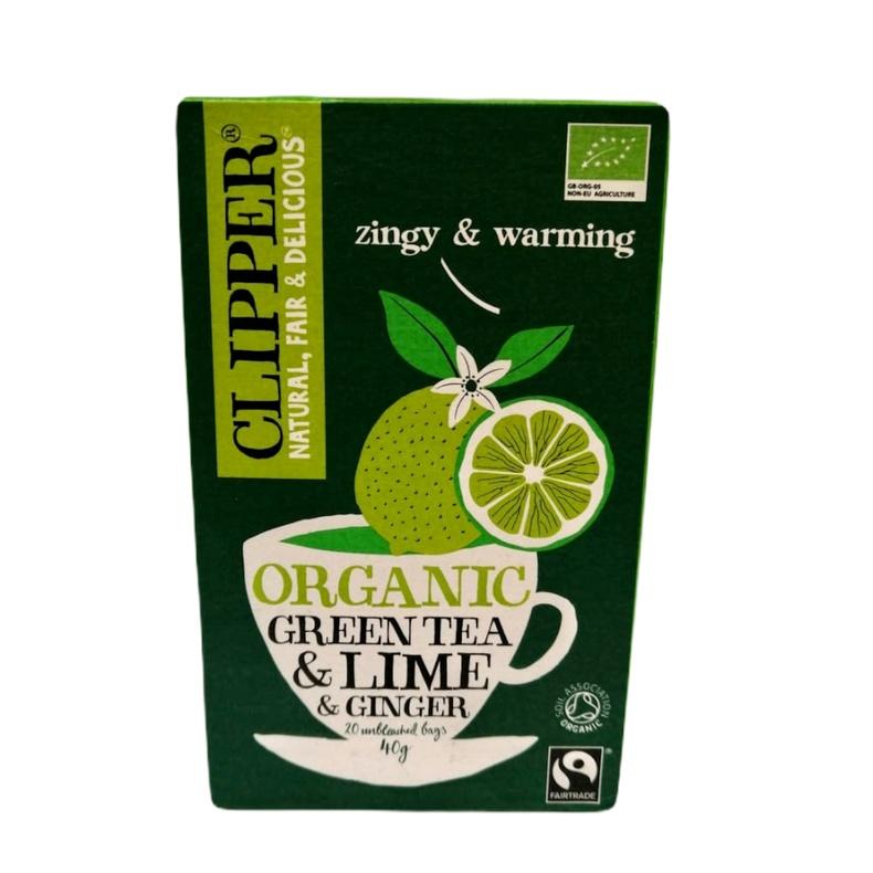 Green Tea Ginger Lime 20 Bags