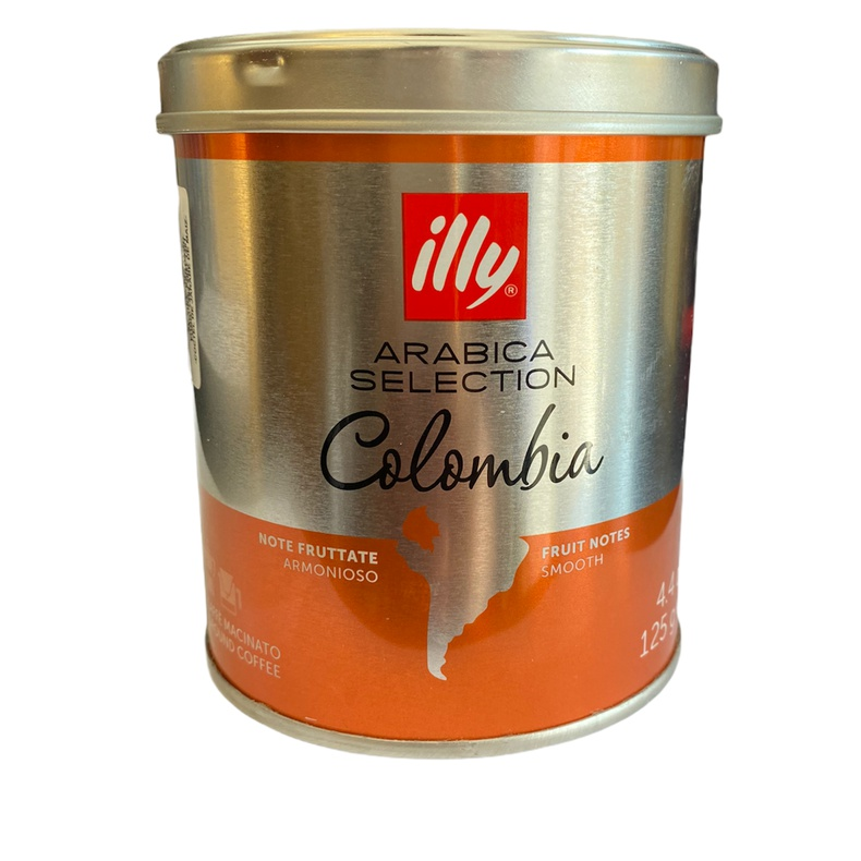 Cafe Molido Arabica Selection Colombia illy 125gr