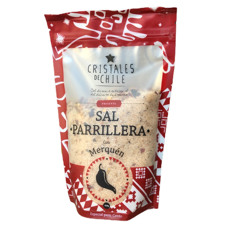 Sal Parrillera Merquen (Cristales De Chile)