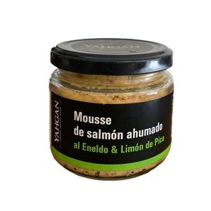 Mousse Salmon Ahum Eneldo Limon Pica 180 Gr (Yg)