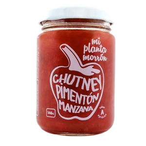 Chutney Pimenton Manzana 146gr Mi Planta Morron