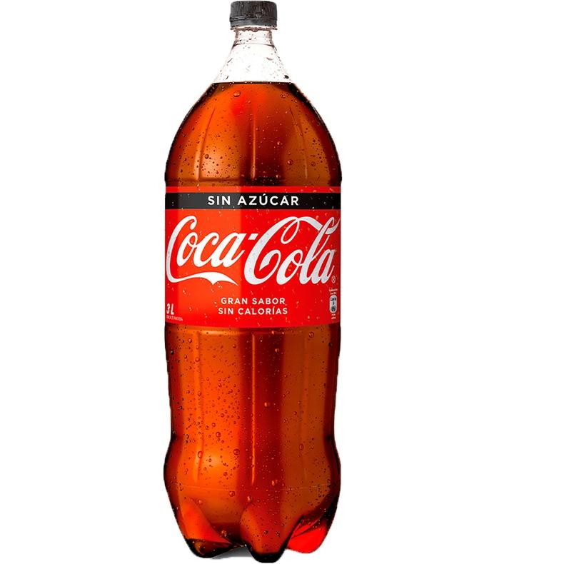 Coca Cola Zero Pet 3 Lts.