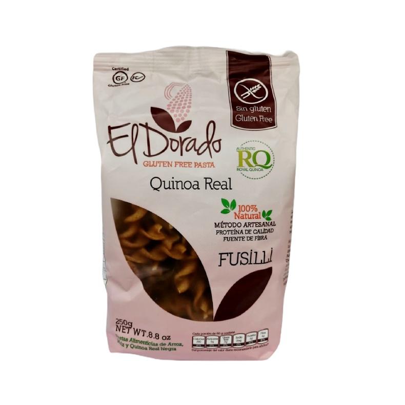 Fusilli Quinoa Real El Dorado 250gr (Regional)