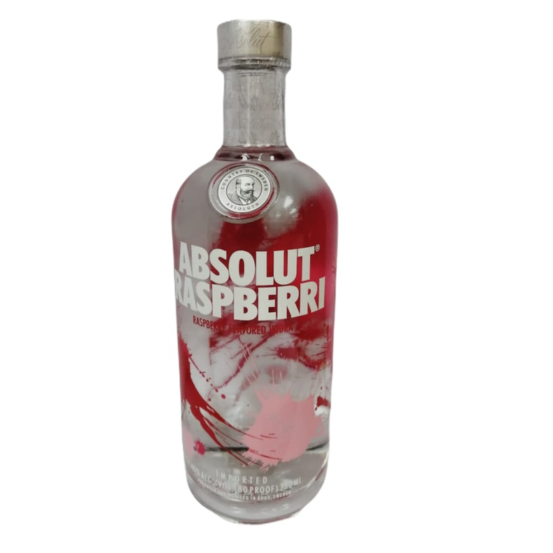 Vodka Absolut Rasberri 40° 750cc. (Pisquera CCU )