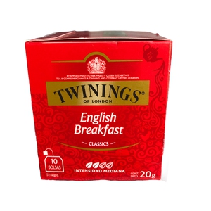 Te Twininngs English Breakfast 12x10 (Engels)